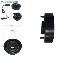 2Pcs 80mm Black Soft Rubber Car Headlight Housing Dust Cover Bulb Seal Cap Kit