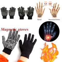Black Anti Arthritis Gloves Arthritic Rheumatoid Hand Relief Therapy Ache P V3W8