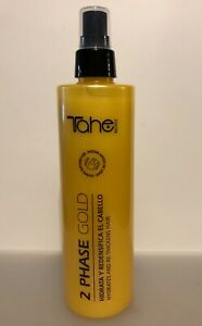 TAHE BIO-FLUID 2 PHASE GOLD HYDRATES AND RE-THICKENS HAIR 300ml - 10.14 oz