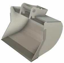 BAUSATZ Baggerschaufel Tieflöffel MS01 MS03 Minibagger-Löffel mit Hardoxschiene