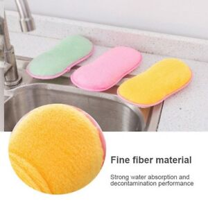 Dinky Cleaning Sponge Dish Pad Double Sided Antibacterial Scrubber MRS HINCH HOT
