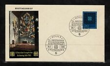 Germany 1965 12th Meeting Of German Protestants In Cologne FDC - Mint