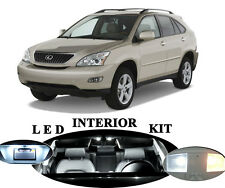 LED Package Interior + License + Vanity + Reverse for Lexus RX 330 RX 350 19Pcs