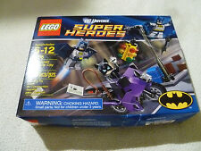 NEW IN BOX LEGO DC UNIVERSE SUPER HEROES 6858 CATWOMAN CATCYCLE CITY CHASE NIB >