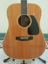 Vintage 1987 Takamine Natural 6 string Lawsuit Era acoustic guitar w/ case