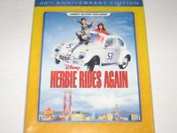 Herbie Rides Again (Blu-ray, 2014, 40th Anniversary Edition, Disney Movie Club)