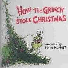 How The Grinch Stole Christmas Albert Hague Boris Karloff