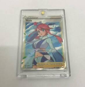 Pokemon Card Skyla Full Art Ultra Rare 072/072 Shining Fates