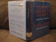 Famous American Women by Hope Stoddard (1970, Hardcover illust. w/dj)