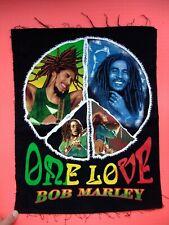 original Bob Marley One Love patch reggae rasta peace