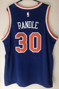 Julius Randle Autographed Nike Knicks NBA Signed XL Swingman Jersey FANATICS COA