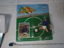 Forza Campioni Roberto Mancini soccer football action figure card RARE Kenner