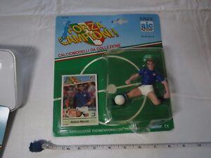 Forza Campioni Roberto Mancini soccer football action figure card RARE Kenner