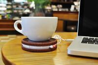 Hot Cookie Warmer Oreo Shaped Cup Warmer USB Powered By Mustard
