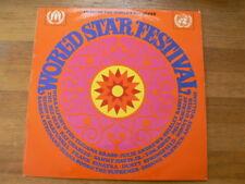 LP VINYL RECORD WORLD STAR FESTIVAL BASSEY,JONES,SINATRA,SPRINGFIELD,ROSS A