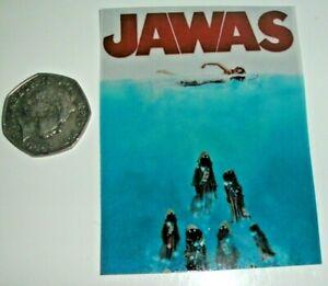 Star Wars Jawas Jaws Funny Film Poster Parody Fridge Magnet
