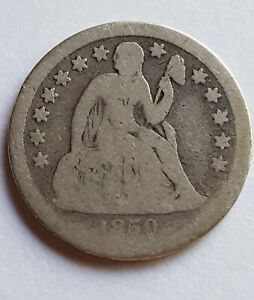 1859-O Seated Liberty Dime - Only 480,000 Minted - Silver Coin