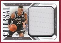 CARIS LEVERT 2018-19 NATIONAL TREASURES COLOSSAL JERSEY #47/99 NETS