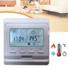 Digital Raumthermostat Thermostat Fußbodenheizung Digitaler Modell Bodenfühler