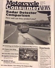 Motorcycle Consumer News Magazine Radar Detector March 1997 073017nonrh