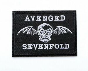 Avenged Sevenfold Music Embroidered Patch Iron-On Sew On Heavy Metal