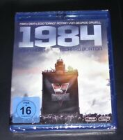 1984 Georg Orwell Con John Hurt / Richard Burton blu ray Veloce Spedizione Nuovo