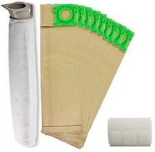 Service Kit for SEBO 370 470 X4 Extra Vacuum 10 Bags Filters Hoover Bag Filter