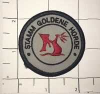 Stamm Goldene Horde Patch - Boy ScoutsGermany - Tribe Golden Horde  2 1/2 inches