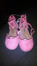 little girls cat & jack lace up flats size 8