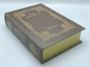 Vintage War and Peace Tolstoy Hidden Storage/Safe Box - Faux Book
