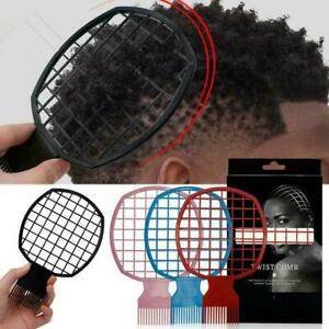 Barber Shop Curly Hair Styling Comb WomenMen Professional Tool Knitting V6D7