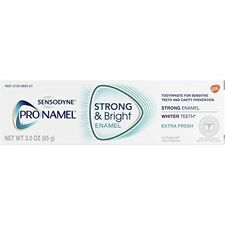 Sensodyne Pronamel Strong and Bright Extra Fresh Toothpaste 3oz Each