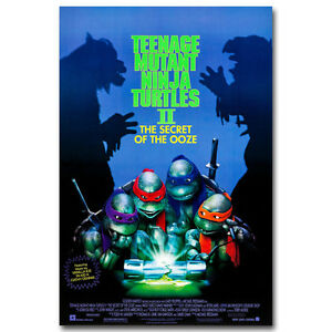 Teenage Mutant Ninja Turtles Cartoon Movie Silk Poster 13x20 24x36 inch 018