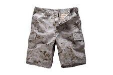 Mens Army Military Combat BDU Shorts Hunt Camp Fishing Casual Camo Cargo Shorts