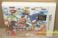 Sega 3D Classics Collection (Nintendo 3DS, 2016) New Sealed + Bonus Decal