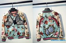 Autumn Bomber Floral Coats & Jackets for Women