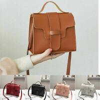 Crossbody PU Shoulder Bag Envelope Messenger Leather Handbag Women Purse Small
