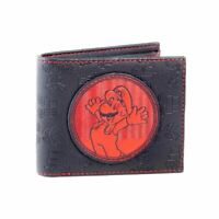 Super Mario Red and Black Patch Bi-Fold Wallet - Nintendo Gift
