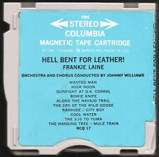 FRANKIE LAINE Hell Bent For Leather 3M Revere M2 Magnetic Stereo Tape Cartridge