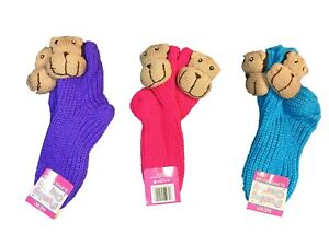 Women's Monkey Socks Funny Ladies Winter Slipper Socks(040120)