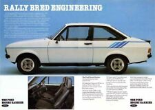 Ford Escort Harrier Mk2 Limited Edition Add POSTER PRINT CLASSIC 70's ADVERT A3