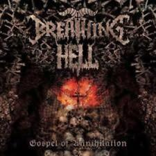 Breathing Hell  'Gospel of Annihilation' cd  BELPHEGOR, DARK FUNERAL