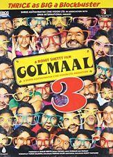 Golmaal 3 (Hindi DVD) (2010) (English Subtitles) (Brand New Original DVD)