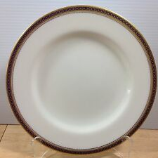 Antique Spode Copeland Majestic 1 Dinner Plate Gold Cobalt Blue Chain Dots 1900s