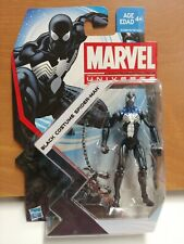 Marvel Universe S5 07 SPIDER-MAN BLACK COSTUME 1:16 scale