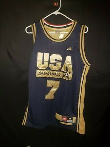 Larry Bird Nike Dream Team USA Basketball Jersey Mens Sz M Swingman