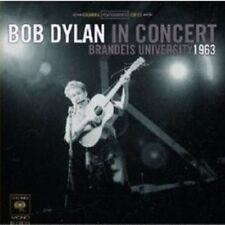 BOB DYLAN: IN CONCERT- BRANDEIS UNIVERSITY 1963 CD NEW