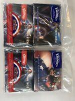 Kleenex Marvel Captain America Civil War Lot Four 2 Packs 10 3-Ply Tissues/Pack