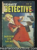 """""""Private Detective"""" February 1948"""