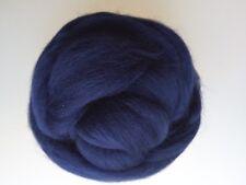Navy* 100% Merino Wool Roving Tops for Dry and Wet Felting, 50 g